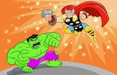 #Hulk #Animated #Fan #Art. (Hulk VS. Thor!) By:Scootah91. ÅWESOMENESS!!!™ ÅÅÅ+    https://s-media-cache-ak0.pinimg.com/564x/8a/e7/b0/8ae7b0a9f94baadd94d28b7ba2a3231b.jpg