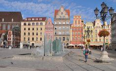 Wrocław (dt. Breslau)/Polen, Marktplatz