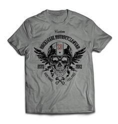 Biker Shirts Maenner - Rockheadz Shop