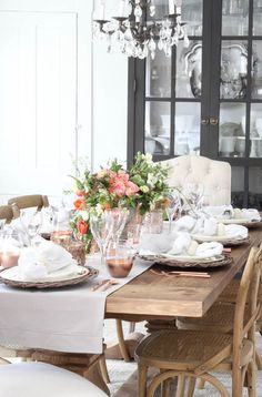 A Mother's Day Tablescape - Rooms For Rent blog