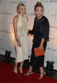 The Olsen twins. The epitome of style!