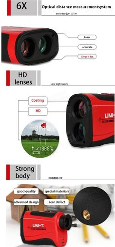 UNI-T LR1000 1000M Laser Range Finder Distance Meter Monocular Telescope Ranging Speed Tester  Angle Measured Hunting Golf Outdoor