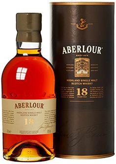 Aberlour 18 Jahre Single Malt Scotch Whisky x l) Booze Drink, Bar Drinks, Alcoholic Drinks, Best Rye Whiskey, Single Malt Irish Whiskey, Alcohol Mixers, Alcohol Bottles, Whiskey Brands, Wine Brands