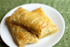 Homemade hot pockets using puff pastry - switch up the filling