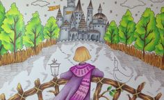 ROMANTIC COUNTRY the second tale - tutorial part 3 - prismacolor pencils