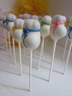 Baby Bump Cake Pops  www.thecakepopbakery.com.au