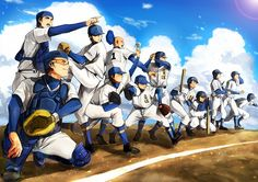 Diamond no Ace wallpaper