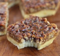 Ina Garten's Pecan Squares. And anything from Ina is amazing.
