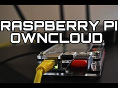 The Raspberry Pi Owncloud allows you to have your very own personal cloud storage! Once all setup you can access your cloud from anywhere in the world! Computer Projects, Arduino Projects, Diy Electronics, Electronics Projects, Cool Raspberry Pi Projects, Raspberry Computer, Raspberry Pi Models, Rasberry Pi, Computer Network