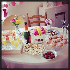 Hen party food #glutenfree