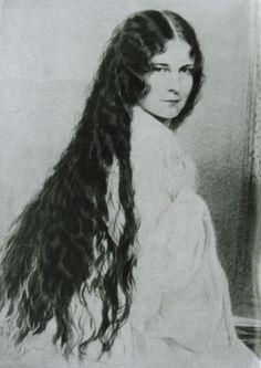 Kaiserin Elisabeth mit offenen Haaren, © IMAGNO/Austrian Archives