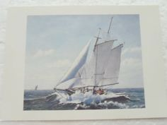 I Must Be Getting Close To The Harbor CCC#5 by Mrs. Matos on Etsy