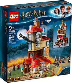 Attack on the Burrow 75980 | Harry Potter™ | Buy online at the Official LEGO® Shop US Lego Harry Potter Sets, Cadeau Harry Potter, Harry Potter Gifts, Bellatrix Lestrange, Lego Hogwarts, Lego Ninjago, Lego Duplo, Legos, Lego Playsets