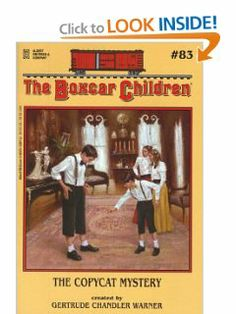 The Copycat Mystery (The Boxcar Children Mysteries #83) by Gertrude Chandler Warner. $4.99. Series - Boxcar Children (Book 83). Publisher: Albert Whitman & Company (January 1, 2001). Author: Gertrude Chandler Warner