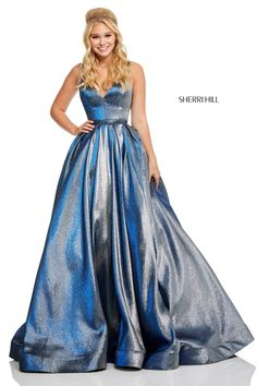 1cede57716 sherrihill-52755-royal-dress-1.jpg Metallic Prom Dresses