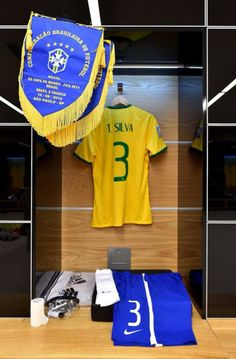 Twitter / Brazil14WC: The dressing rooms are ready. #Brazil