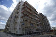elewacje niebawem będą gotowe http://www.budimex-nieruchomosci.pl/warszawa-osiedle-pod-sloncem-3/