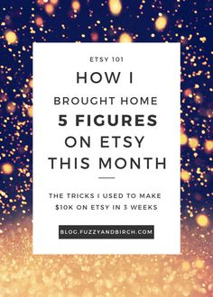 10K on Etsy in one month - I sat down to think about how I managed to kick ass at all things this month, (so I can tell you how to do it yourself!) and a few things stuck out. Read the article to find out more.