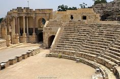Beit She'an in the northern #Jordan Valley is one of the most ancient sites in #Israel - https://www.pilgrimtraveler.com