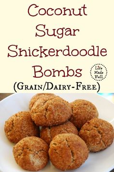 A soft, chewy center and a bit of crispness on the outside make these snickerdoodle bombs unforgettable!!!