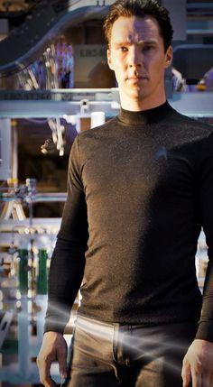 Benedict Cumberbatch as Khan