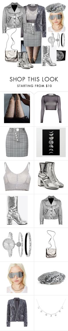 """Silvered Out Baby 😋🤗👏😍"" by p0llyinurpocket ❤ liked on Polyvore featuring Lirika Matoshi, Oh My Love, Alexander Wang, Amba, Balenciaga, Maison Margiela, Marc by Marc Jacobs, SO & CO, Ann Demeulemeester and Fantas-Eyes"