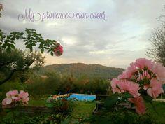 Couleurs du soir en Provence