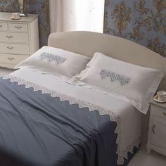 lenzuolo http://www.manidifata.it/fai-da-te/tecniche/uncinetto/lenzuolo-matrimoniale-lino-e-schema-21412065-html.html