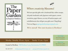 Paper Garden Boutique, Sacramento, CA