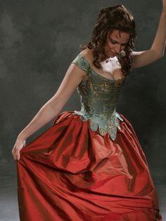 c.1660 Cavalier Restoration Moliere Corset Costume Ensemble $1,185.00