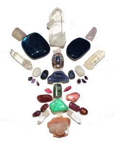 Reiki Charged Crystal Grid ~