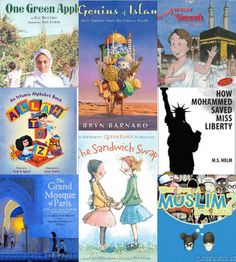 Over 40+ Islamic, Muslim and cultural books for kids ages 2-13. Great for a Summer Reading Program.