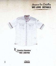 Camisa Hombre Ref. 200769 Talla: S-M-L-XL