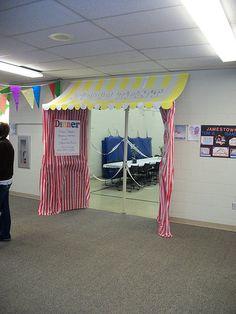 Food Tent School Family Fun Night Carnival