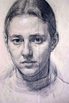 Website of Australian Portrait Artist Robert Hannaford Portrait Au Crayon, L'art Du Portrait, Portrait Sketches, Graphite Drawings, Pencil Drawings, Art Drawings, Pencil Portrait Drawing, Horse Drawings, Realistic Drawings