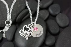 Personalized Cheerleader Necklace