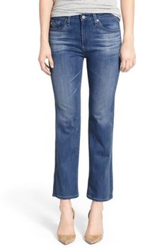 Image of AG Jodi Cropped Flare Jeans