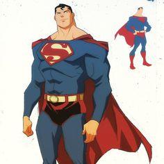 Instagram media by philbourassa - Superman sketch from 2011 #superman #sketch…
