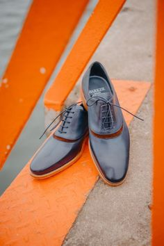 Barker Emerson in navy hand painted/polo suede. Now 30% off!  #barkershoes #barkersale #robinsonsshoes Custom Converse, Converse Shoes, Disney Toms, Hand Painted Shoes, Shoe Tree, Michael Kors Outlet, Nike Free Shoes, Goodyear Welt, Emerson