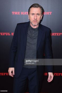 Actor Tim Roth attends the New York premiere of 'The Hateful Eight' on December 14, 2015 in New York City.