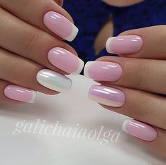 Searching for best nail trends and nail polish ideas in 2017 Here we've compiled top trendy list of fresh nail designs 2017 for women and cute girls. Nail Polish Designs, Nail Art Designs, Cute Nails, Pretty Nails, Smart Nails, Pink Nails, My Nails, Wedding Nail Polish, French Tip Nails