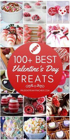 100 Best Valentine's Day Treats #valentines #valentinesday #recipes #treats #valentinecrafts #desserts