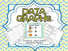 Data Graphs FREEBIE from JD's Rockin' Readers on TeachersNotebook.com -  (12 pages)  - This freebie has 3 different data graphs with worksheets.