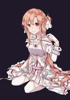 Asuna Sword Art Online Wallpaper, Kirito Asuna, Sword Art Online Kirito, Manga Couple, Manga Drawing, Illustrations And Posters, Cosplay, Anime Manga, Female Art
