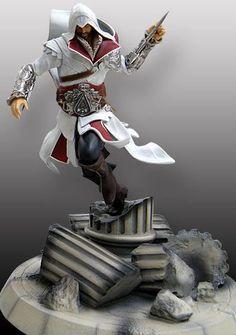 Estatua Assassin's Creed II. Ezio, 40cm