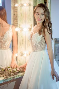 Wedding Dress  Noel Collection Athens Greece Lace Vintage Strapless Boho A Line Backless Ball Gown BeachWith Sleeves Unique Bohemian Open Back Long Train Summer Designer Mermaid Princess Romantic Elegant Off The Shoulder Corset Modern Classic Sparkly Glitter Silk Satin Ivory Rustic