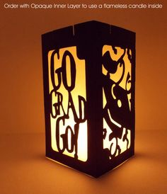 Graduation Party Luminaries Table Decorations by EventfulOccasions