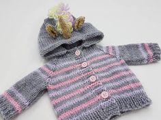 Unicorn Waldorf Doll Hoodie / Sweater for 15 Waldorf