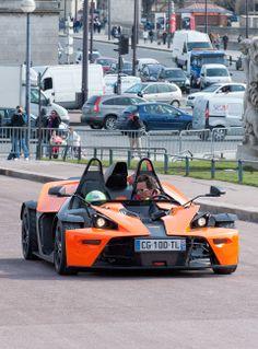 KTM X-bow . Paris. March  2013