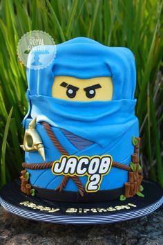 Lego Ninjago cake-  Joaquin's dream cake